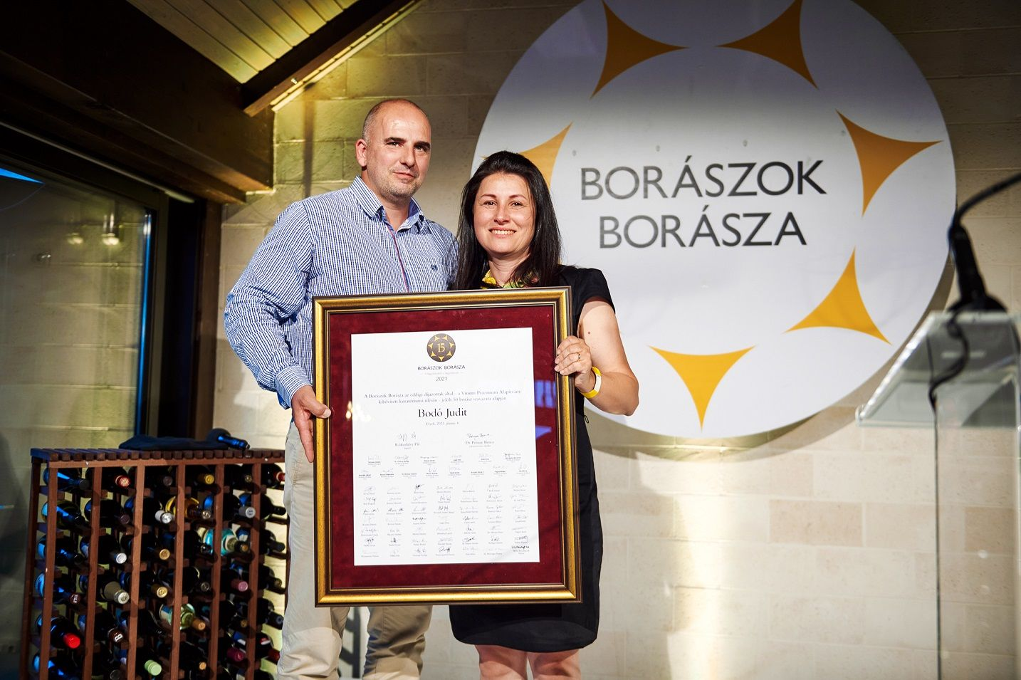 Judit Bodó, Winemaker of the Winemakers